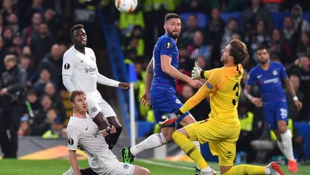 Челсі – Айнтрахт: відео голів та огляд матчу 09.05.2019 - Ліга Європи