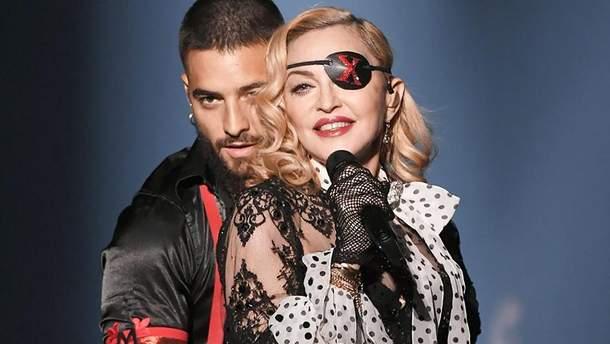 Мадонна выступила на премии от Billboard