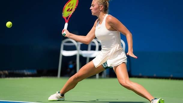Марта Костюк сыграла первый матч за три месяца