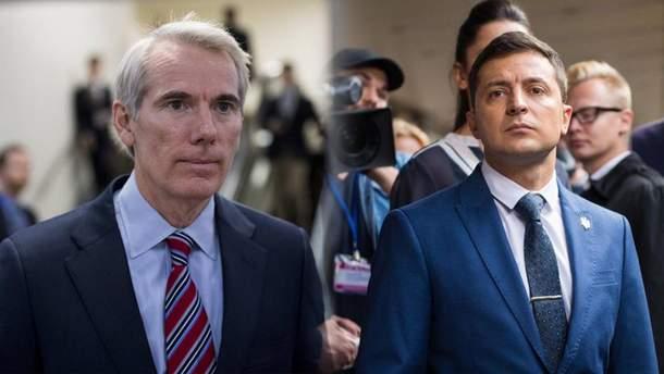 Зеленський мав розмову з сенатором США