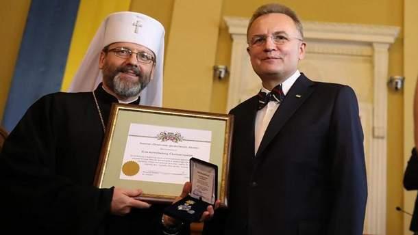 Святослав Шевчук и Андрей Садовый