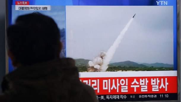 Детали запуска и характеристики ракеты анализируют власти США и Южной Кореи