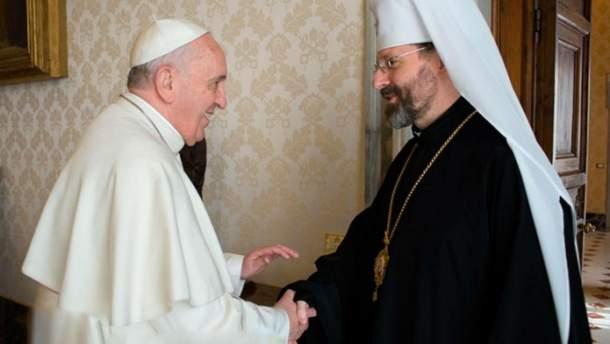Папа Римский пригласил руководство УГКЦ