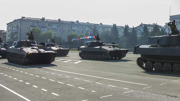Как оккупанты Луганщины готовятся ко Дню Победы
