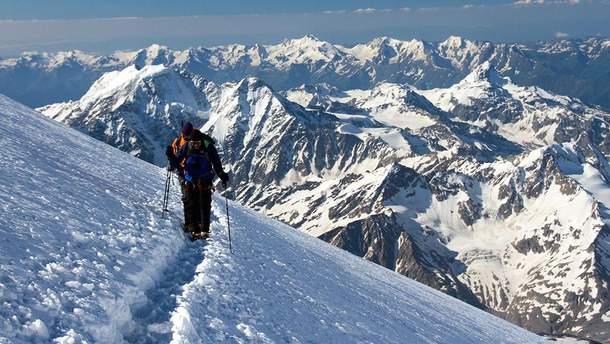 Украинский альпинист погиб на Эльбрусе