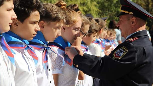 Школярі з окупованої Донеччини