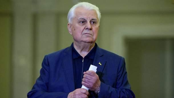 Кравчук дав Зеленському пораду щодо війни на Донбасі
