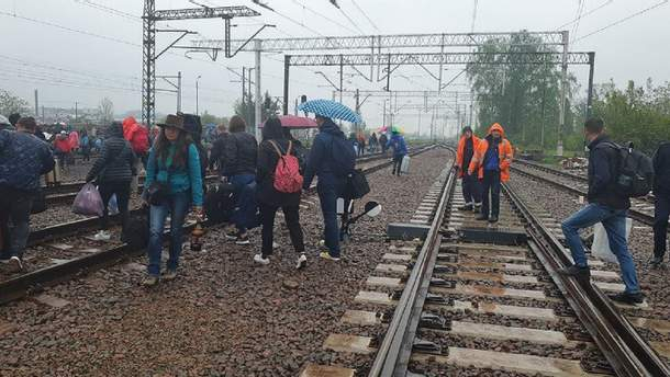 У Польщі евакуювали всіх пасажирів поїзда Київ – Перемишль