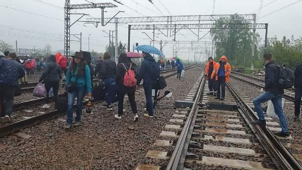 В Польше эвакуировали всех пассажиров поезда Киев – Перемышль
