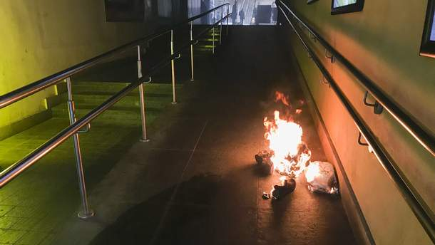 В одном из столичных торговых центров произошел взрыв