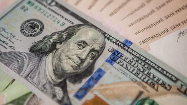 Доллар рекордно упал вцене  — Курс обмена валют