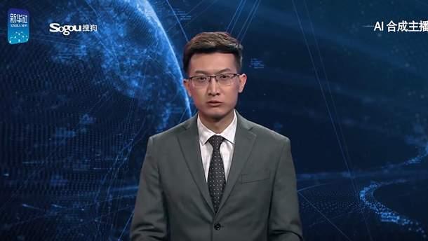 """Китайцы """"продали"""" ИИ-ведущего новостей"""