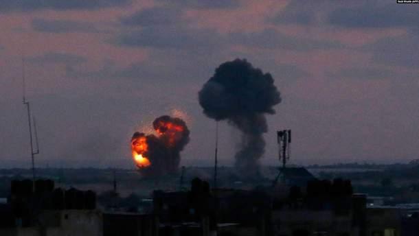 Обстрел Израиля