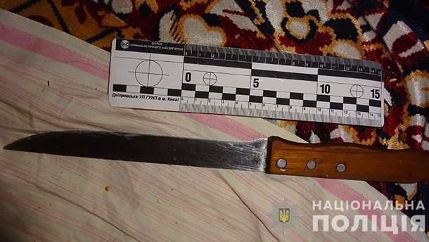 В Киеве тесть воткнул нож в живот зятю