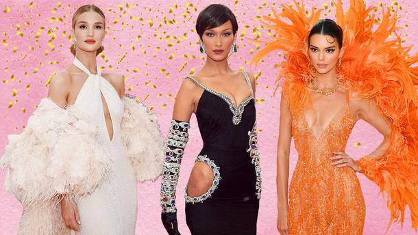 """Ангелы"" Victoria's Secret на Met Gala 2019"