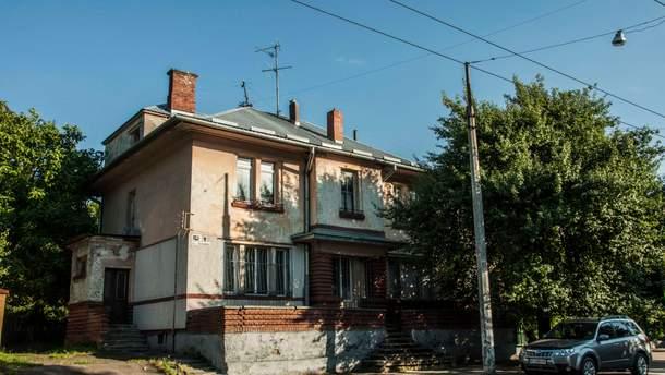 Одна з перших вілл у стилі функціоналізму на вулиці Антоновича у Львові