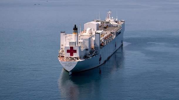Корабль ВМС США Comfort