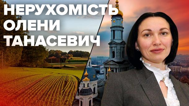 Нерухомість Олени Танасевич - голови Антикорупційного суду