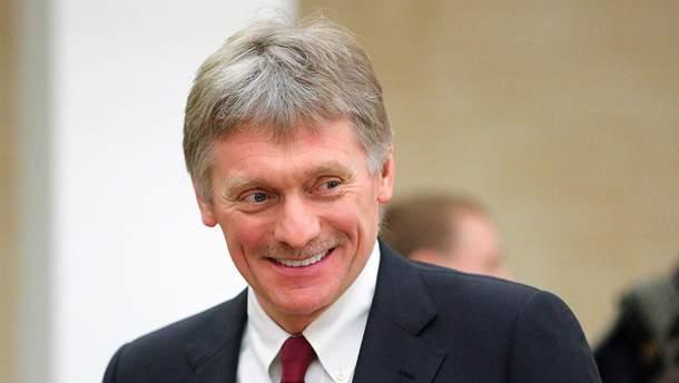 Пєсков прокоментував рішення України про невизнання паспортів РФ жителів Донбасу