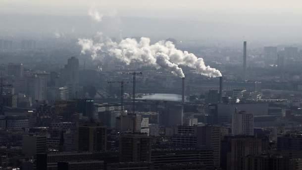 В ЕС сократились выбросы углекислого газа
