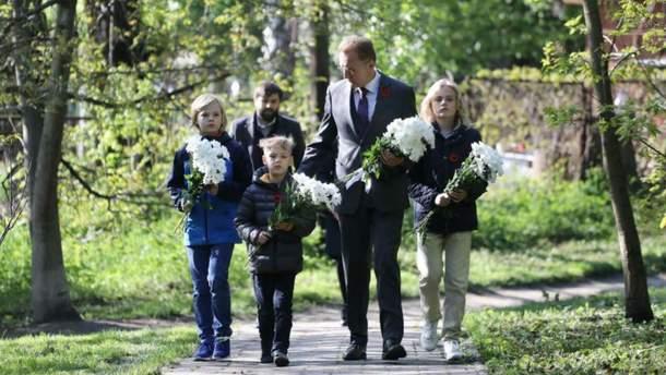Андрій Садовий з синами