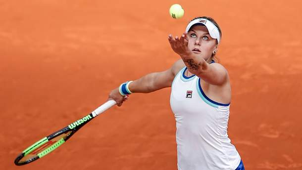 Сенсационная украинская теннисистка проиграла на турнире в Мадриде
