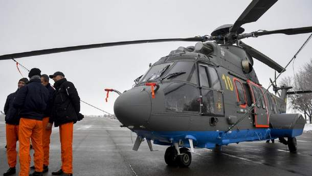 Вертолет Н-225 Super Puma