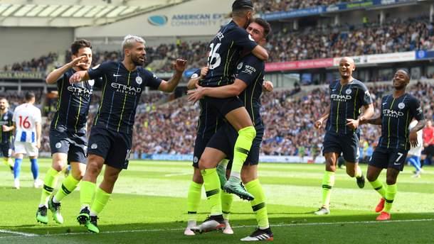 Брайтон – Манчестер Сіті: огляд матчу та відео голів 12 травня 2019