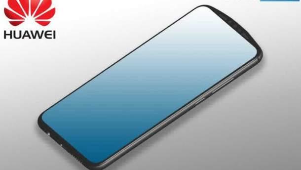 Huawei  придумала нове рішення для селфі-камери