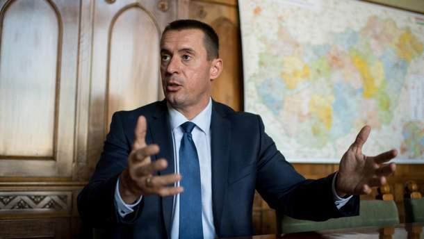 "Лидер партии ""Йоббик"" Томаш Шнайдер"
