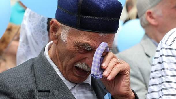 Годовщина депортации крымских татар в аннексированном Крыму