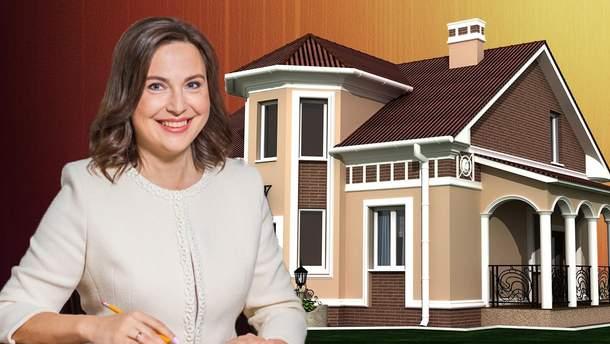 Судья не задекларировала роскошный особняк под Киевом