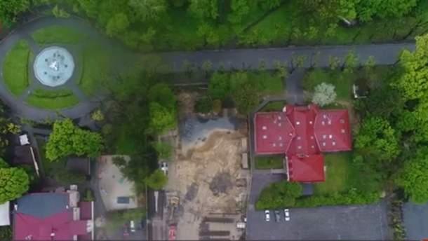 Исторический павильон незаконно снесли во Львове