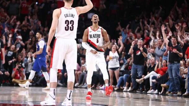 Баскетболисты устроили массовую драку во время матча плей-офф НБА: видео
