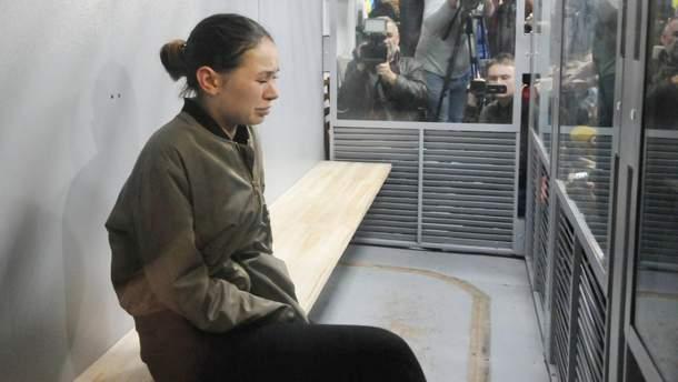 Захист Зайцевої просить пом'якшити їй покарання до 5 років тюрми умовно
