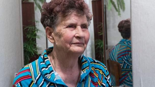 Мама Олега Сенцова Людмила
