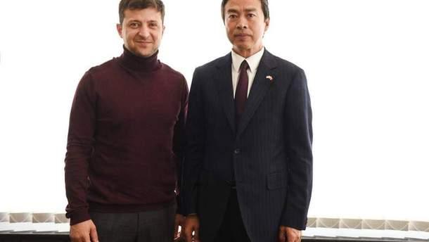 Володимир Зеленський зустрівся з Ду Веєм