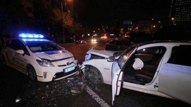 ДТП за участю службового автомобіля поліції