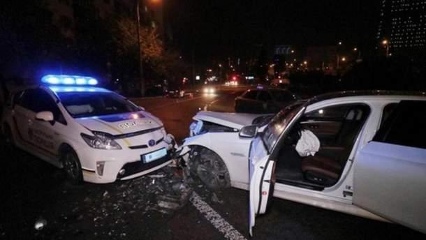 ДТП с участием служебного автомобиля полиции