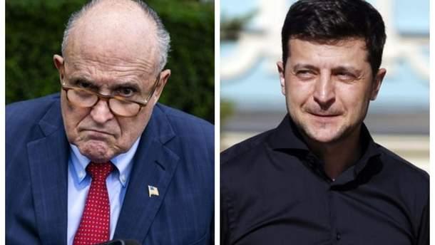 Джуліані заявив, що ворогом Трампа в оточенні Зеленського є нібито Лещенко
