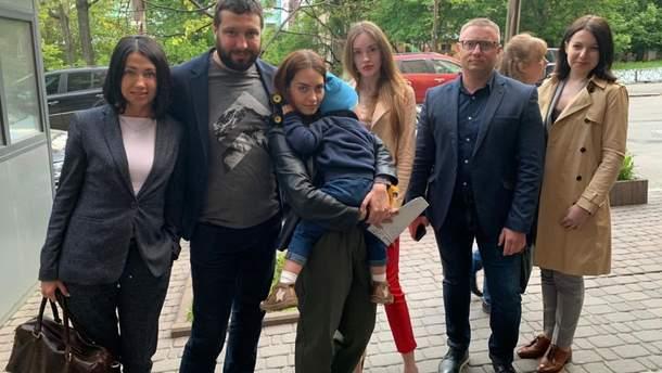 Двухлетнего мальчика вернули матери-украинке
