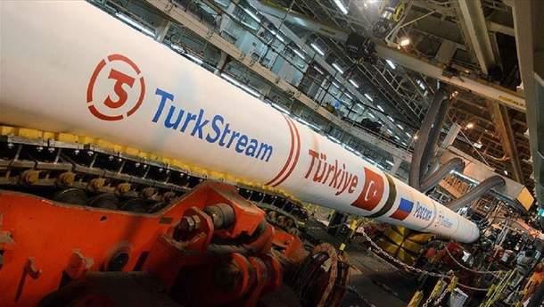 "Проект ""Турецкий поток"" завершена на 70 процентов"