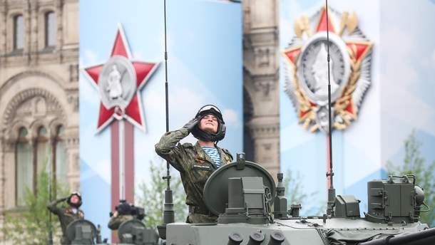 В Stratfor проанализировали оружие, которое Кремль демонстрировал на параде к 9 мая