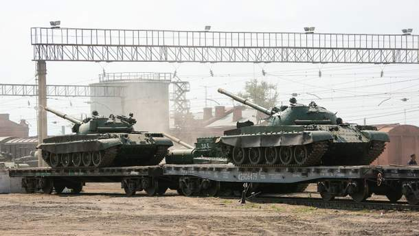 Бойовики продовжують розміщувати танки й гаубиці в заборонених місцях