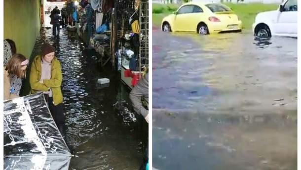 Злива в Києві затопила місто