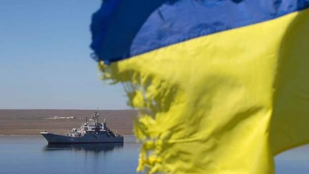 Україна  створила такі умови, що російські кораблі на Азові ближче певної лінії не підходять, – Наєв