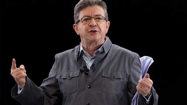 """Глава лівої партії """"Нескорена Франція"""" Жан-Люк Меланшон"""