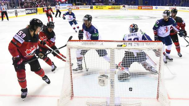 Канада победила Великобританию на ЧМ по хоккею