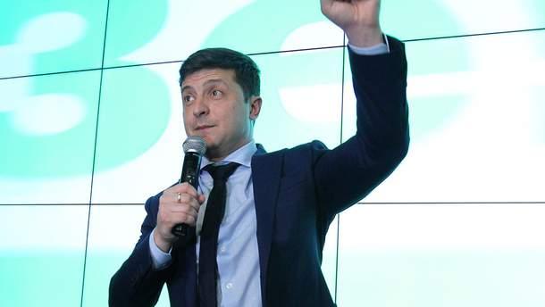 Владимир Зеленский оштрафован за показ бюллетеня - новости Украины