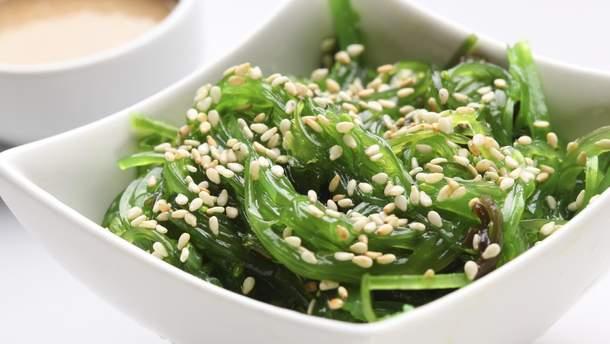 Салат чука – источник йода